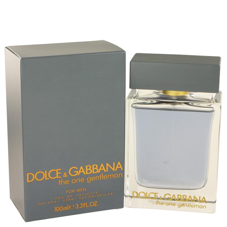 The One Gentlemen by Dolce & Gabbana for Men Eau De Toilette Spray 3.4 oz