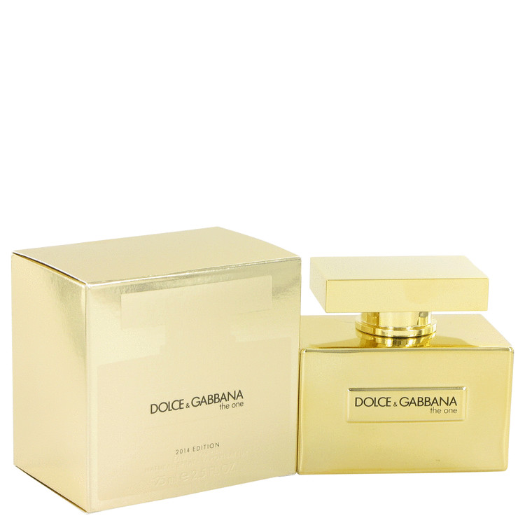 The One by Dolce & Gabbana for Women Eau De Parfum Spray (Gold Limited Edition) 2.5 oz