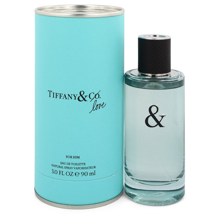 Tiffany & Love by Tiffany Men's Eau De Toilette Spray 3 oz