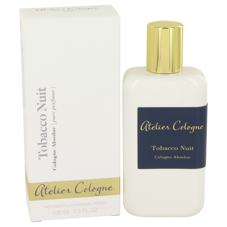 Tobacco Nuit by Atelier Cologne for Women Pure Perfume Spray (Unisex) 3.3 oz