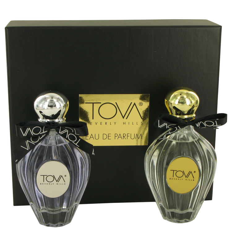TOVA by Tova Beverly Hills for Women Gift Set -- Tova Signature 3.4 oz Eau De Parfum Spray + Tova Night 3.4 oz Eau De Parfum Spr