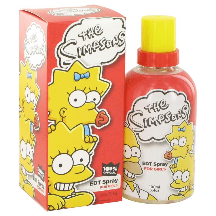 The Simpsons by Air Val International for Women Eau De Toilette Spray 3.4 oz
