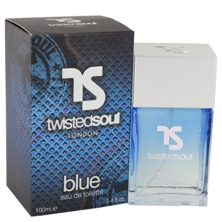 Twisted Soul Blue by Twisted Soul for Men Eau De Toilette Spray 3.4 oz