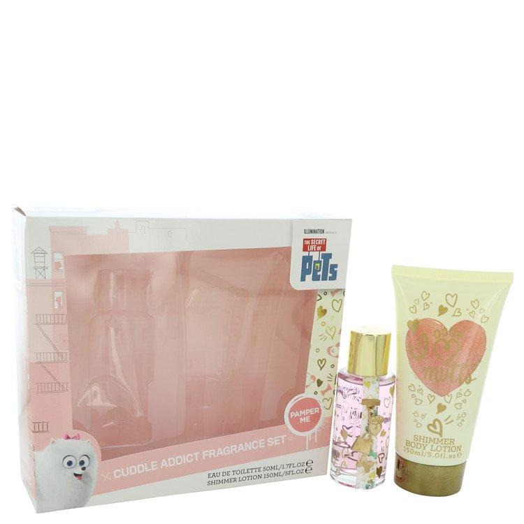 The Secret Life of Pets Cuddle Addict by Corsair for Women Gift Set -- 1.7 oz Eau De Toilette Spray + 5 oz Body Lotion