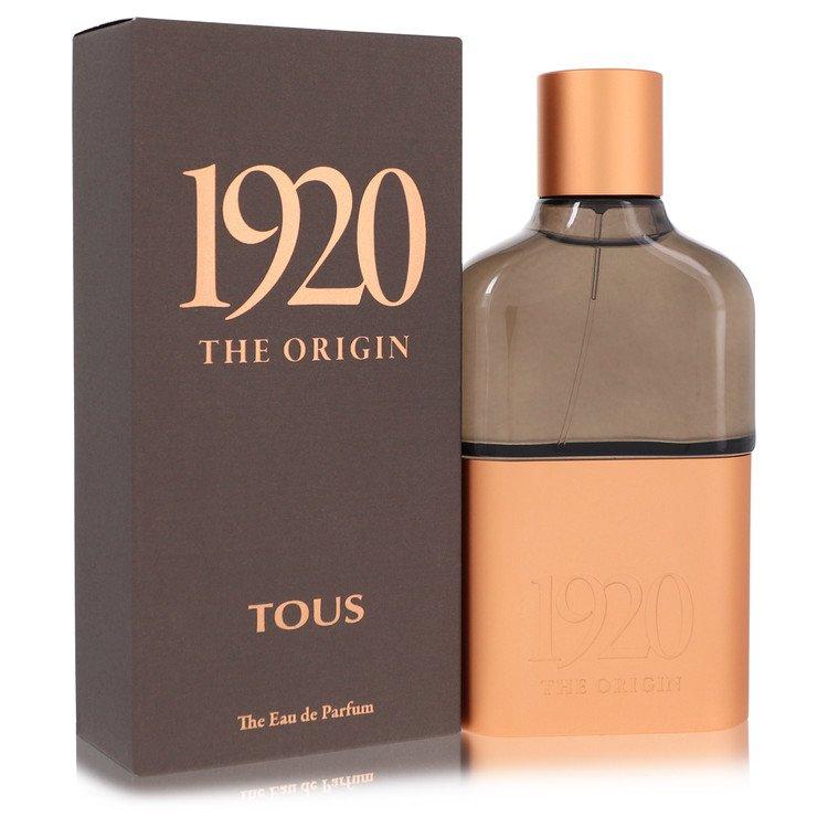 Tous 1920 The Origin by Tous –  Eau De Parfum Spray 3.4 oz 100 ml for Men