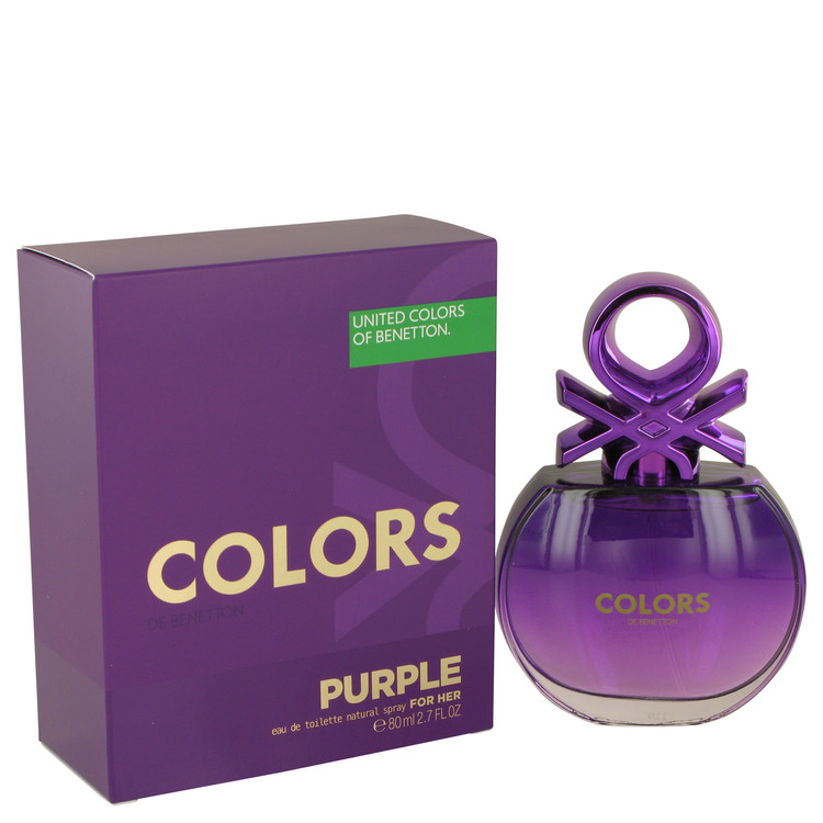 United Colors Of Benetton Purple Perfume 2.7 oz EDT Spay for Women