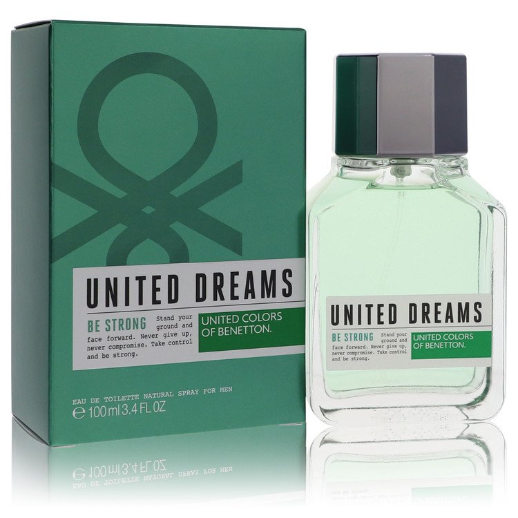 United Dreams Be Strong by Benetton for Men Eau De Toilette Spray 3.4 oz