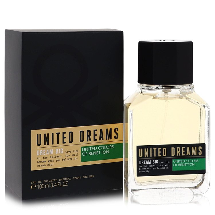 United Dreams Dream Big Cologne by Benetton 3.4 oz EDT Spay for Men