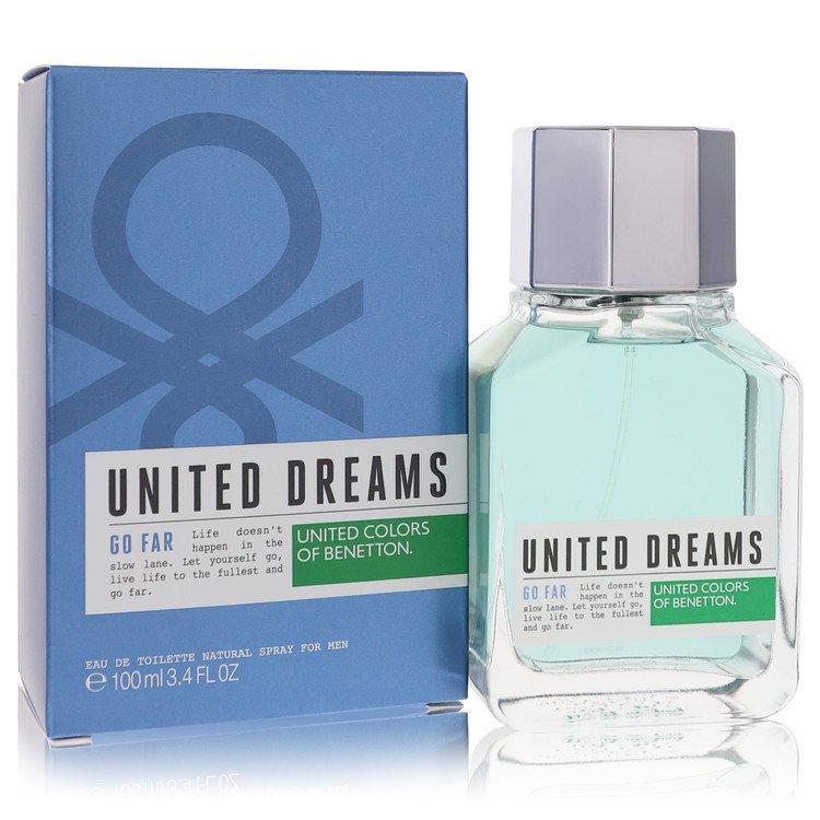 United Dreams Go Far Cologne by Benetton 3.4 oz EDT Spay for Men