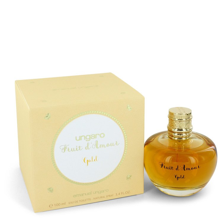 Ungaro Fruit D'amour Gold by Ungaro Women's Eau De Toilette Spray 3.4 oz