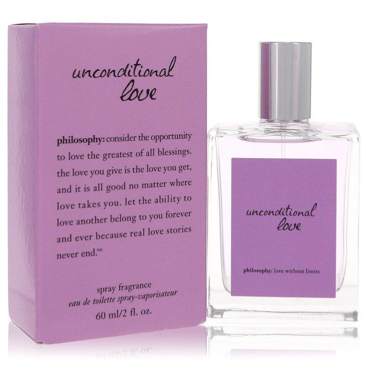 Unconditional Love by Philosophy for Women Eau De Toilette Spray 2 oz