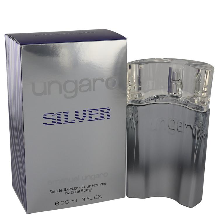 Ungaro Silver Cologne by Ungaro 3 oz EDT Spray for Men