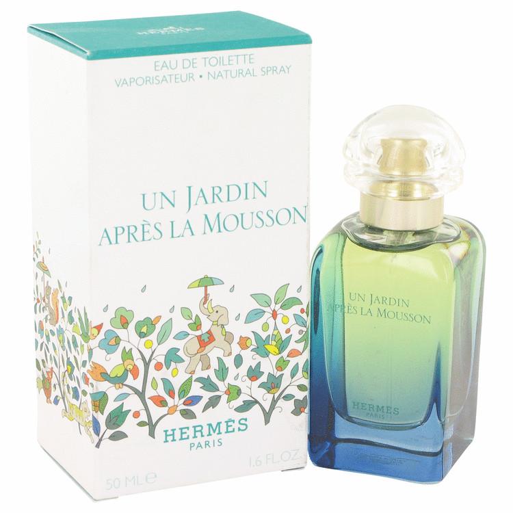 Un Jardin Apres La Mousson by Hermes for Women Eau De Toilette Spray 1.7 oz