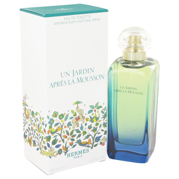 Un Jardin Apres La Mousson by Hermes for Women Eau De Toilette Spray 3.4 oz