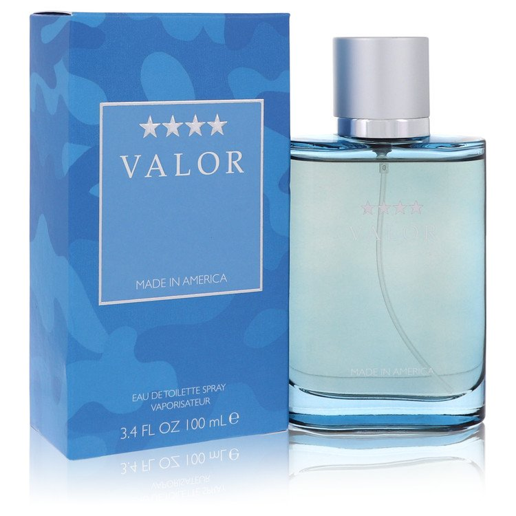 Valor by Dana for Men Eau De Toilette Spray 3.4 oz