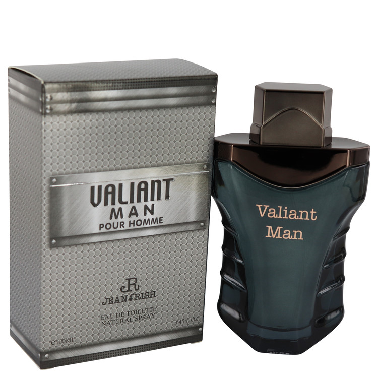 Valiant Man by Jean Rish for Men Eau De Toilette Spray 3.4 oz