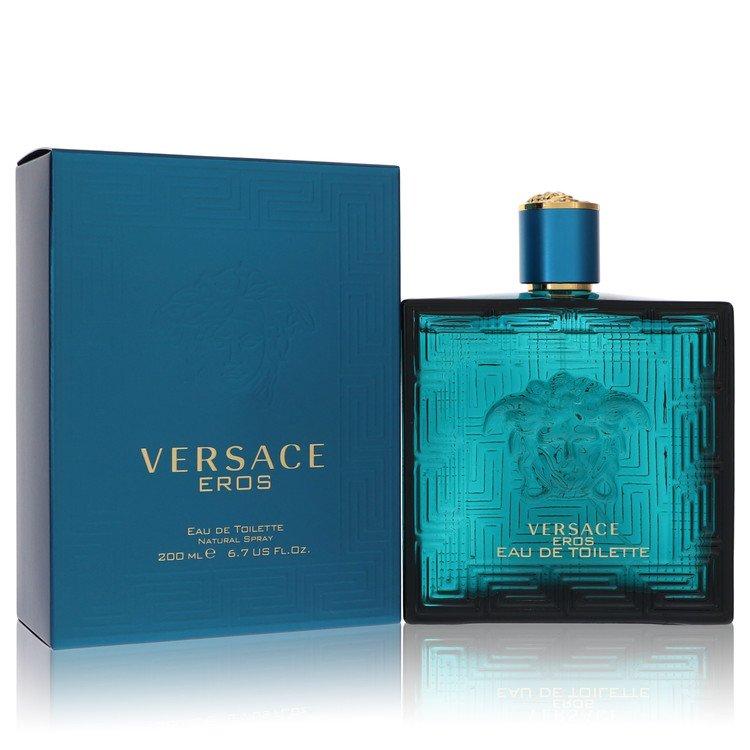 Versace Eros Cologne by Versace 6.7 oz EDT Spray for Men