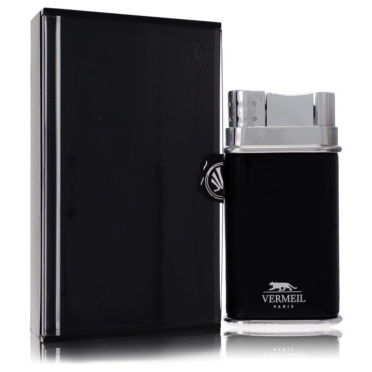 Vermeil Black by Vermeil for Men Eau De Toilette Spray 3.4 oz