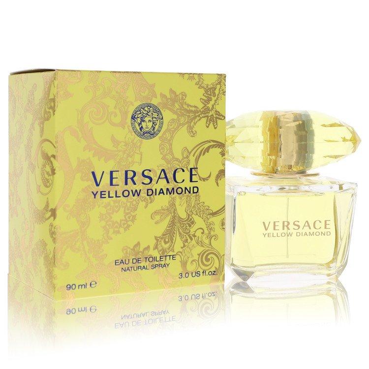 Versace Yellow Diamond by Versace Women's Eau De Toilette Spray 3 oz