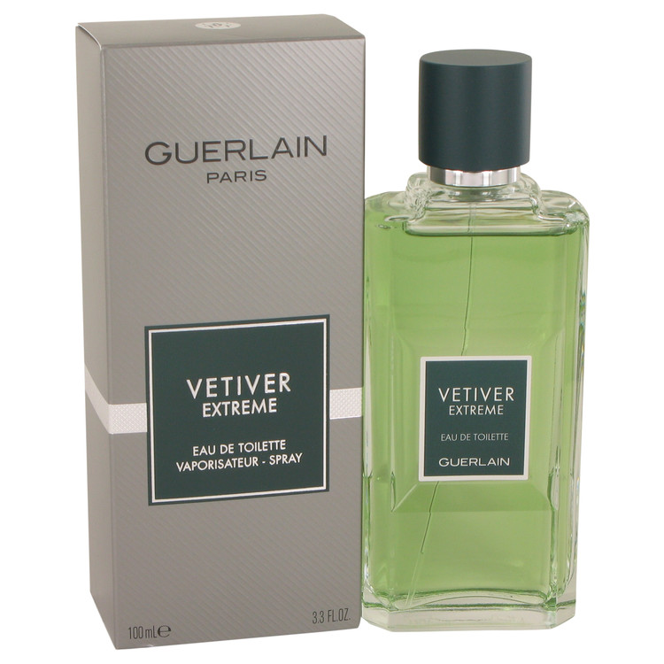 Vetiver Extreme by Guerlain for Men Eau De Toilette Spray 3.4 oz