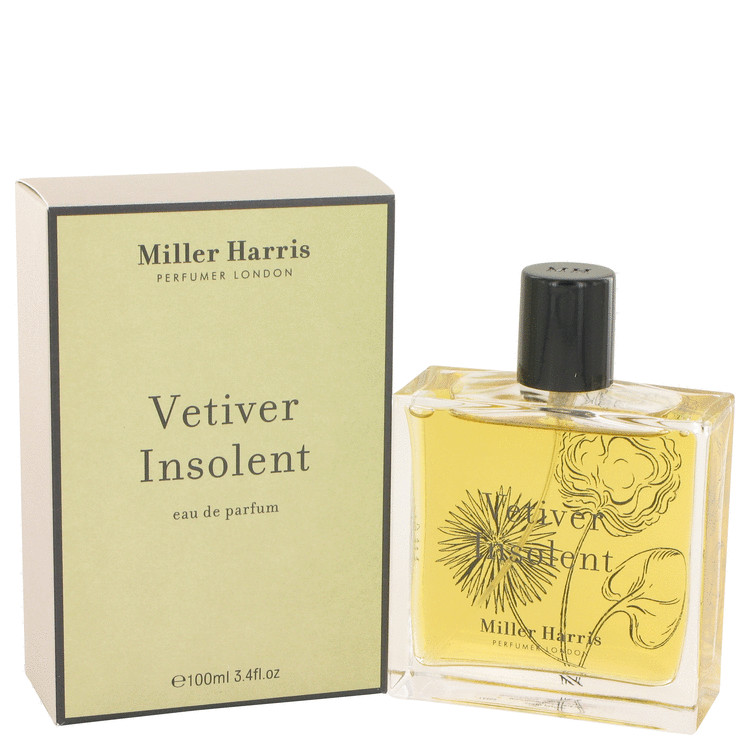 Vetiver Insolent Perfume by Miller Harris 3.4 oz EDP Spay for Women