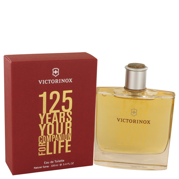 Victorinox 125 Years by Victorinox for Men Eau De Toilette Spray (Limited Edition) 3.4 oz