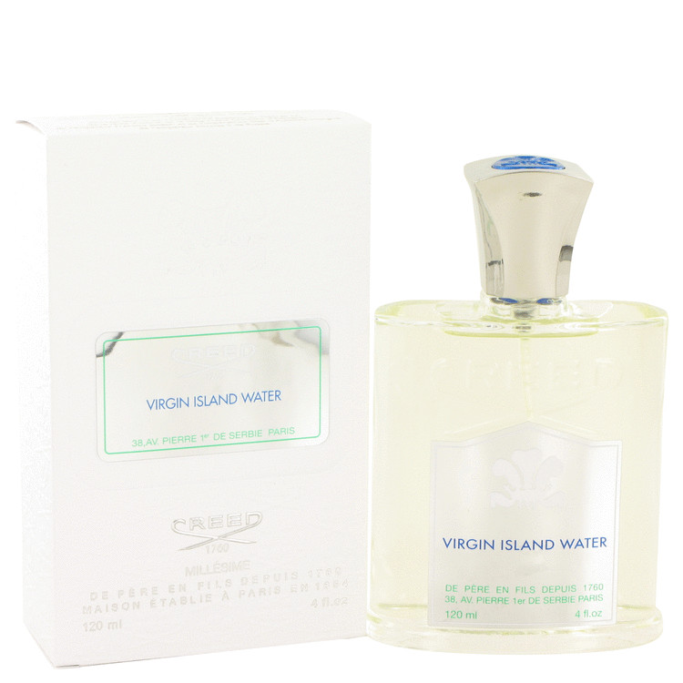 Virgin Island Water by Creed for Men Millesime Spray (Unisex) 4 oz