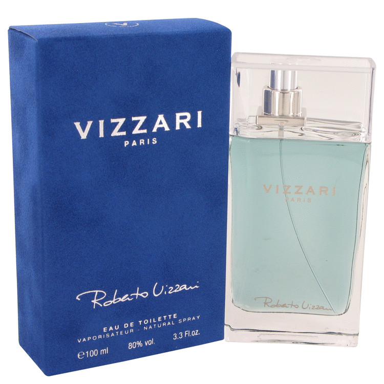 Vizzari by Roberto Vizzari for Men Eau De Toilette Spray 3.3 oz