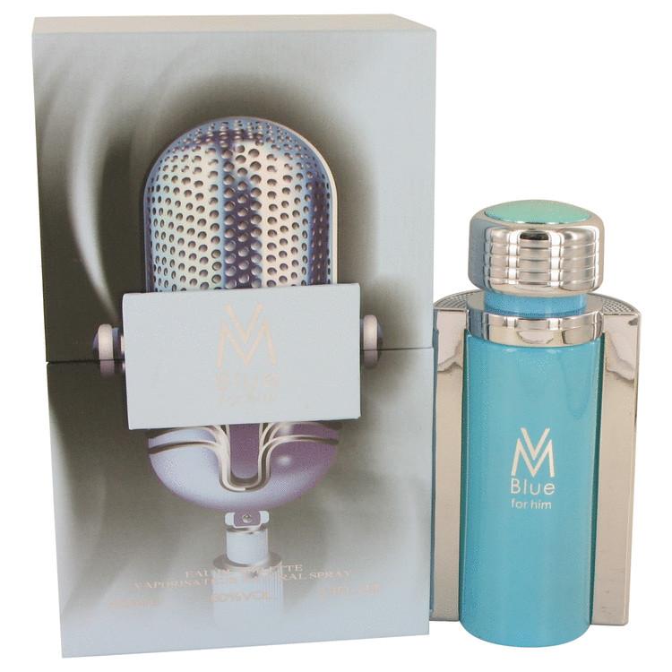 VM Blue by Victor Manuelle for Men Eau De Toilette Spray 3.4 oz