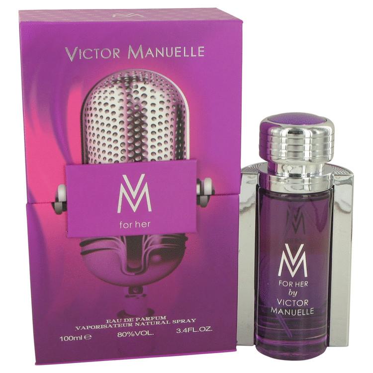 VM by Victor Manuelle for Women Eau De Parfum Spray 3.4 oz