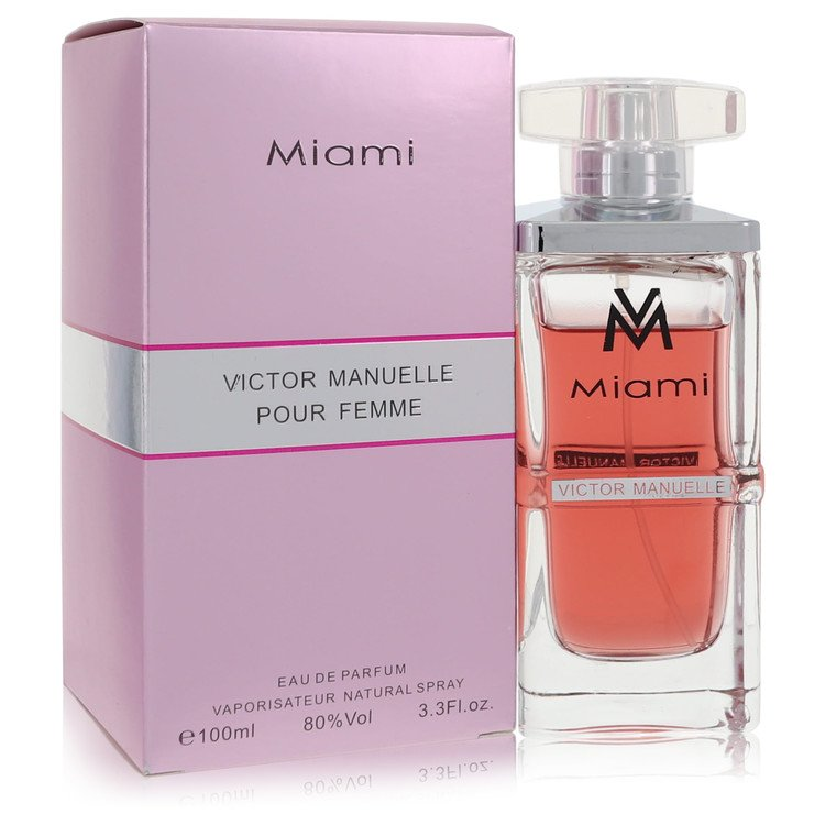 Victor Manuelle Miami by Victor Manuelle for Women Eau De Parfum Spray 3.4 oz