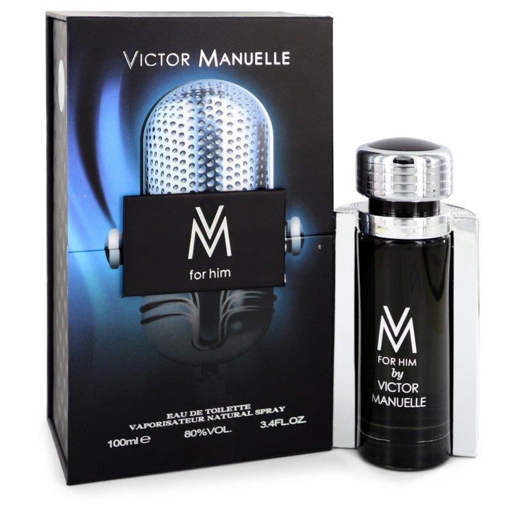 VM by Victor Manuelle for Men Eau De Toilette Spray 3.4 oz