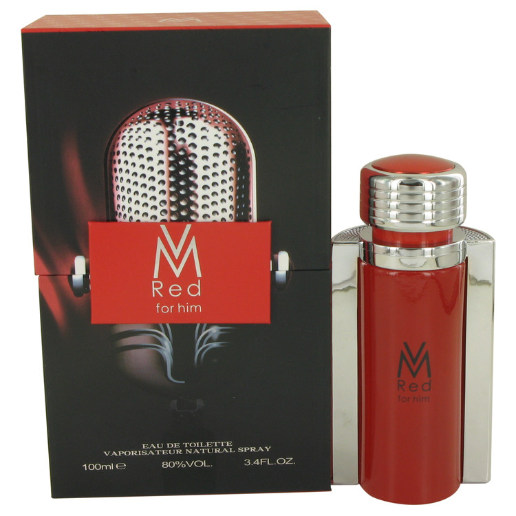 Victor Manuelle Red by Victor Manuelle for Men Eau De Toilette Spray 3.4 oz