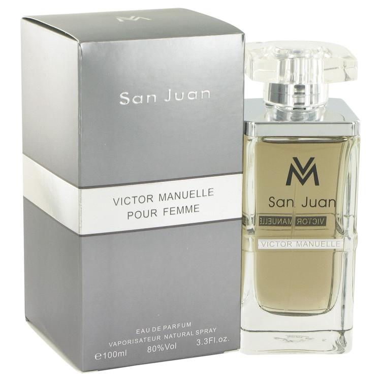 Victor Manuelle San Juan by Victor Manuelle for Women Eau De Parfum Spray 3.4 oz