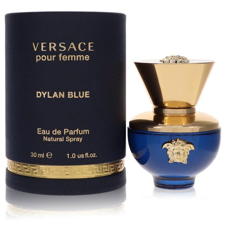 Versace Pour Femme Dylan Blue Perfume 1 oz EDP Spay for Women Spray