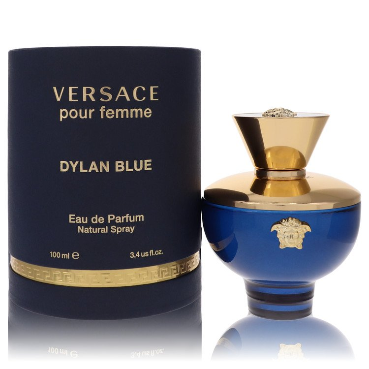 Versace Pour Femme Dylan Blue Perfume 3.4 oz EDP Spay for Women Spray