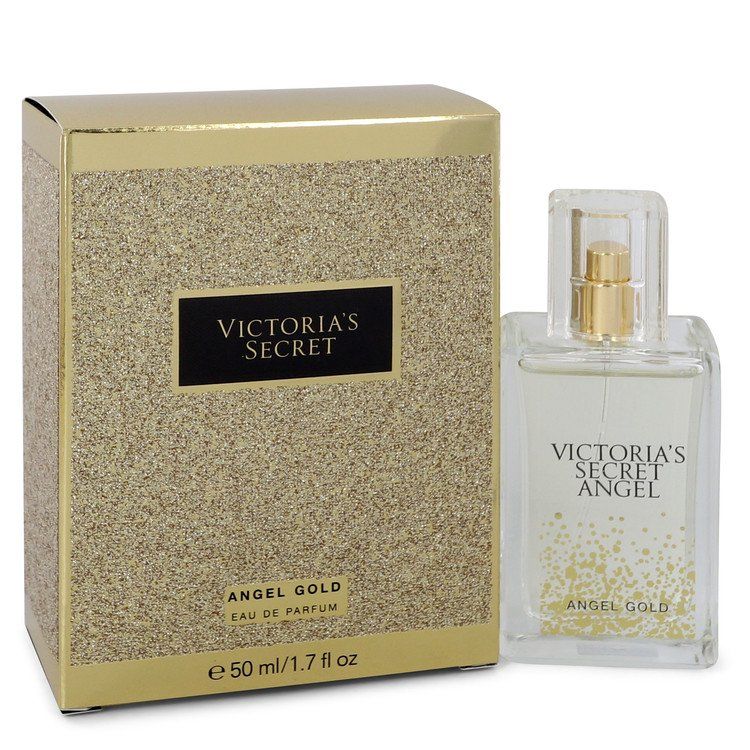 Victoria's Secret Angel Gold by Victoria's Secret –  Eau De Parfum Spray 1.7 oz 50 ml for Women