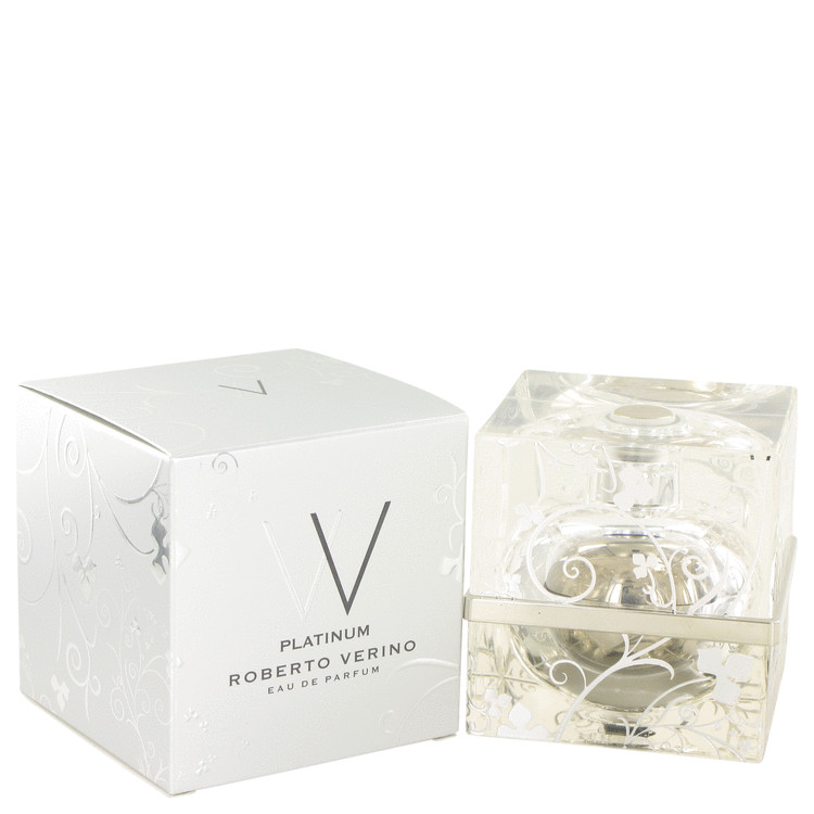V V Platinum by Roberto Verino for Women Eau De Parfum Spray 2.5 oz