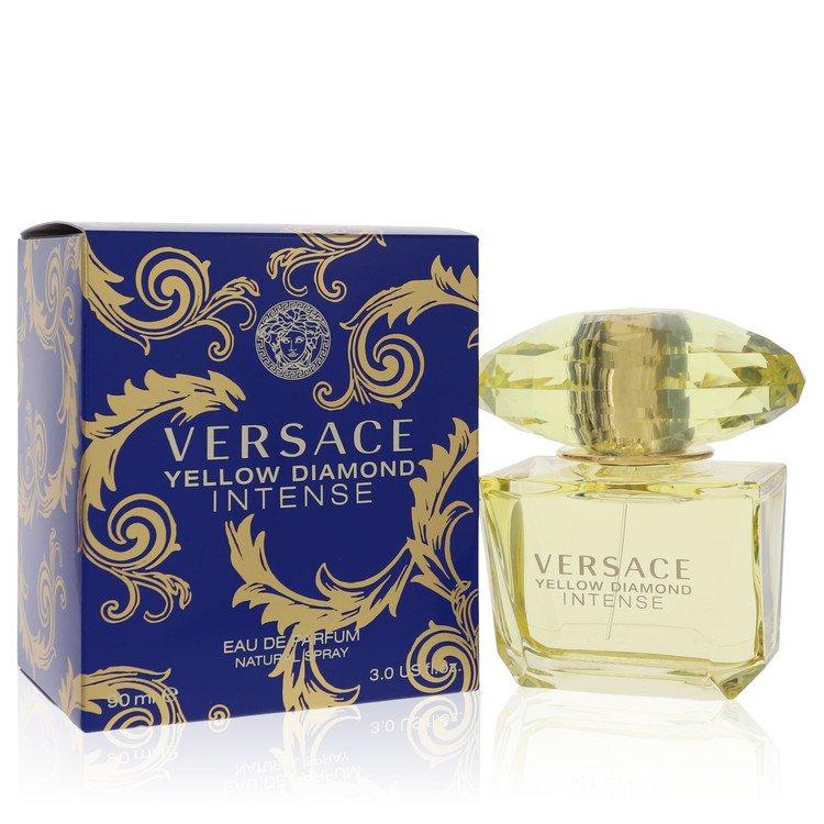 Versace Yellow Diamond Intense by Versace for Women Eau De Parfum Spray 3 oz