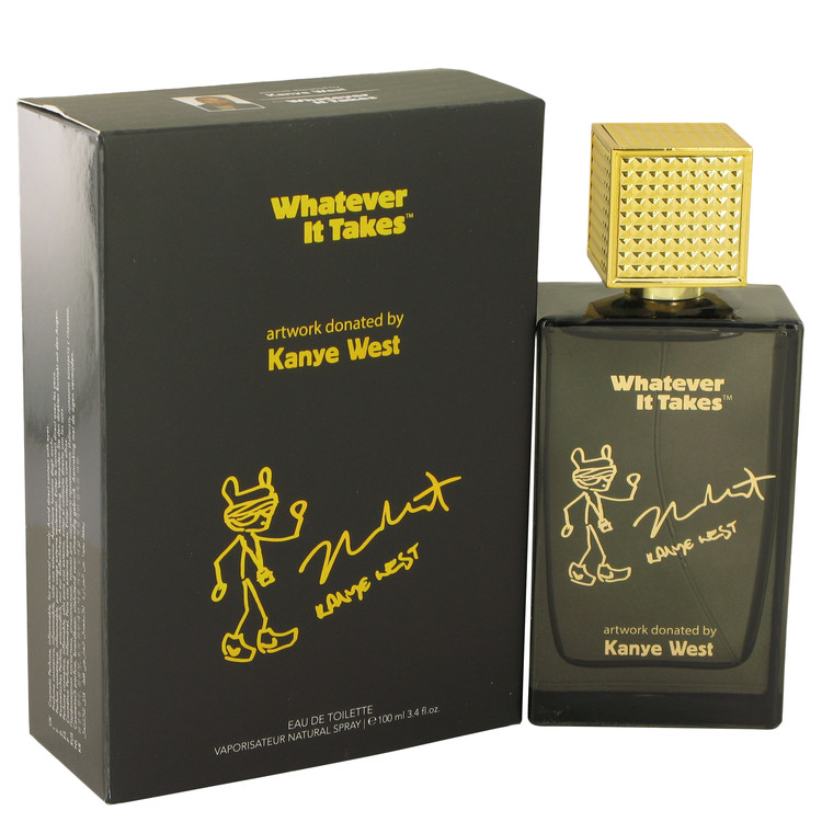 Whatever It Takes Kanye West by Whatever It Takes for Men Eau De Toilette Spray 3.4 oz