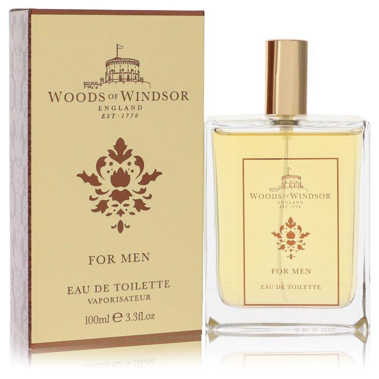 Woods of Windsor by Woods of Windsor for Men Eau De Toilette Spray 3.4 oz