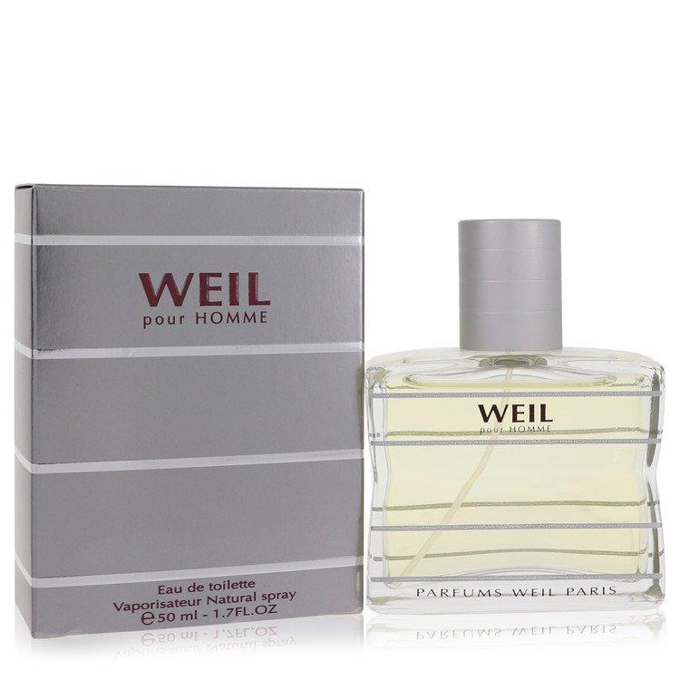 Weil Pour Homme by Weil for Men Eau De Toilette Spray 1.7 oz
