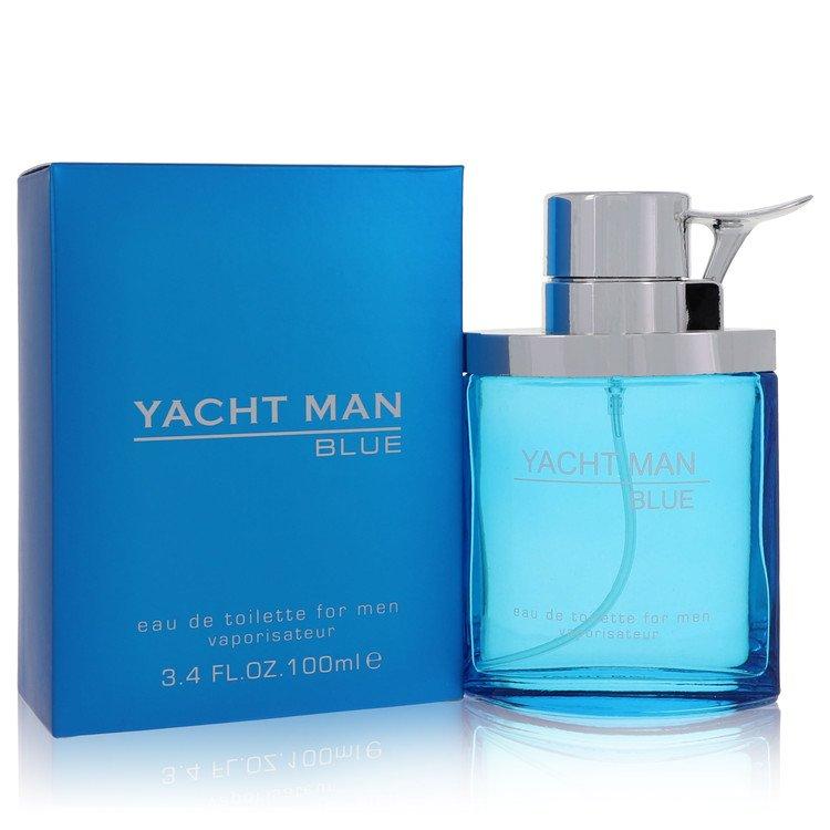 Yacht Man Blue by Myrurgia for Men Eau De Toilette Spray 3.4 oz