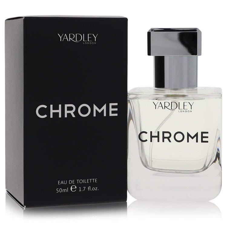 Yardley Chrome by Yardley London –  Eau De Toilette Spray 1.7 oz 50 ml for Men