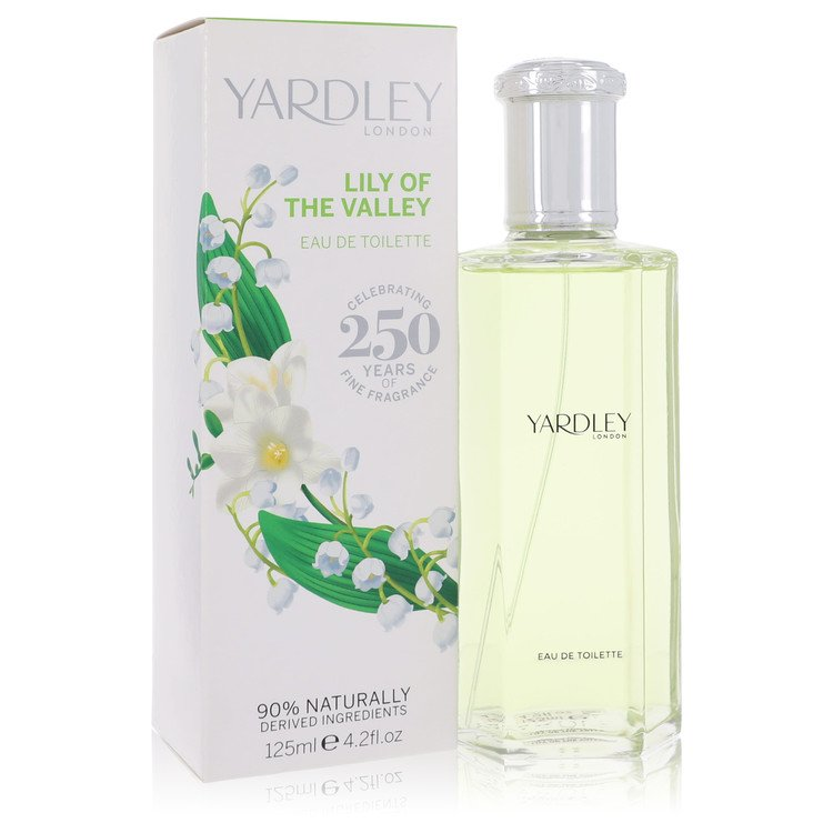 Lily of The Valley Yardley by Yardley London for Women Eau De Toilette Spray 4.2 oz
