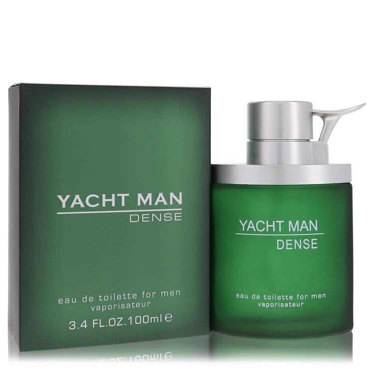 Yacht Man Dense by Myrurgia –  Eau De Toilette Spray 3.4 oz 100 ml for Men