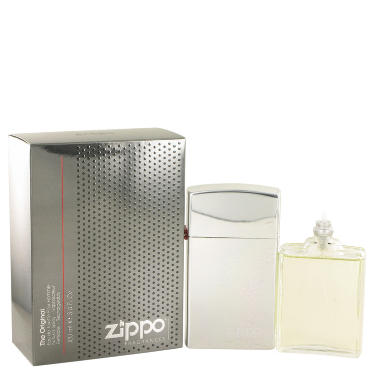 Zippo Original by Zippo for Men Eau De Toilette Spray Refillable 3.4 oz
