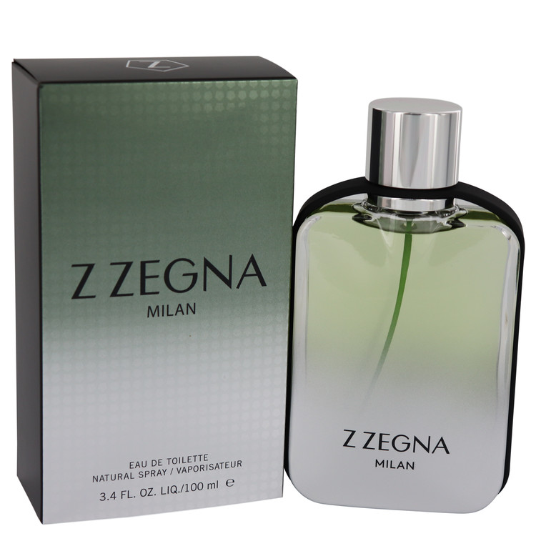 Z Zegna Milan by Ermenegildo Zegna for Men Eau De Toilette Spray 3.4 oz