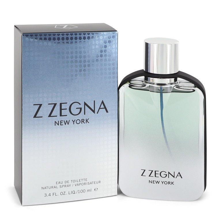 Z Zegna New York by Ermenegildo Zegna Men's Eau De Toilette Spray 3.4 oz