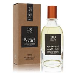 100 Bon Oud Wood & Amyris Cologne by 100 Bon 1.7 oz Concentree De Parfum Spray (Unisex Refillable)